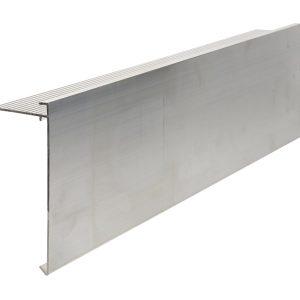 150mm Face aluminium felt trim 3m Long