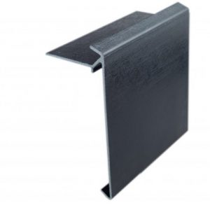 200mm econotrim black