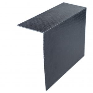 150 x 75mm angle black