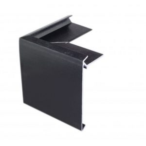 200mm econotrim black external