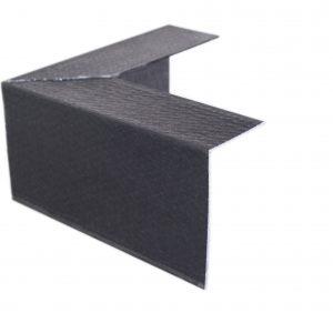 100 x 60mm angle black external