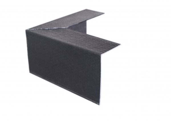 100 x 60mm angle black external