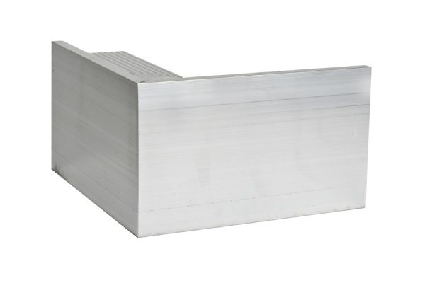110mm aluminium trim external Corner