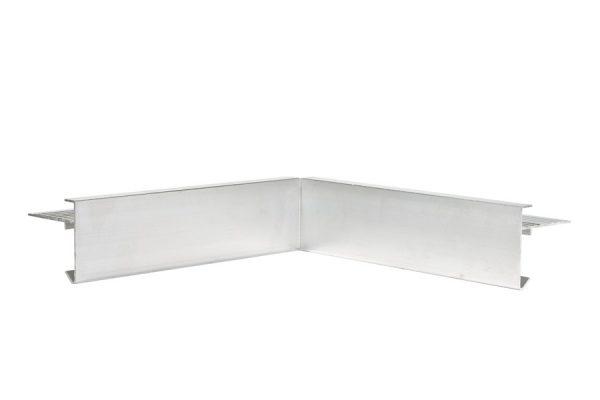 45mm Aluminium trim internal Corner