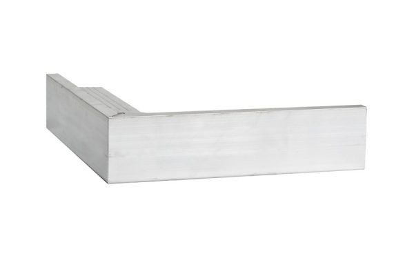 45mm Face aluminium trim External Corner