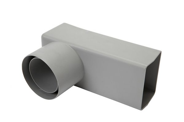 65mm Square Pipe Universal Connector