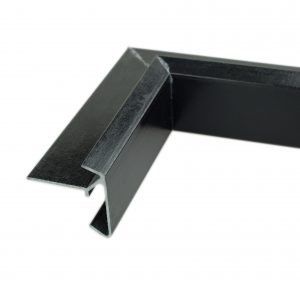 65mm econotrim black internal