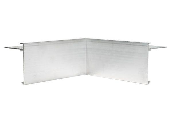 80mm Aluminium trim internal Corner