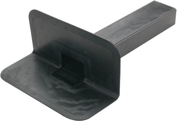 Parapet Outlet TPE 100mm x 65mm